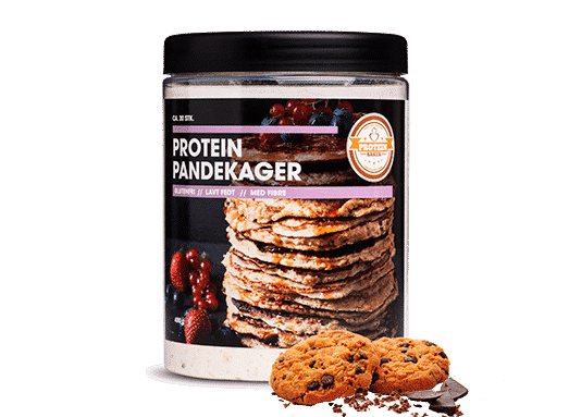 sunde protein pandekager